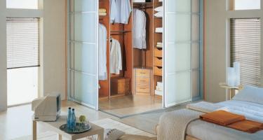 Гардеробные шкафы и шкафы-купе для одежды